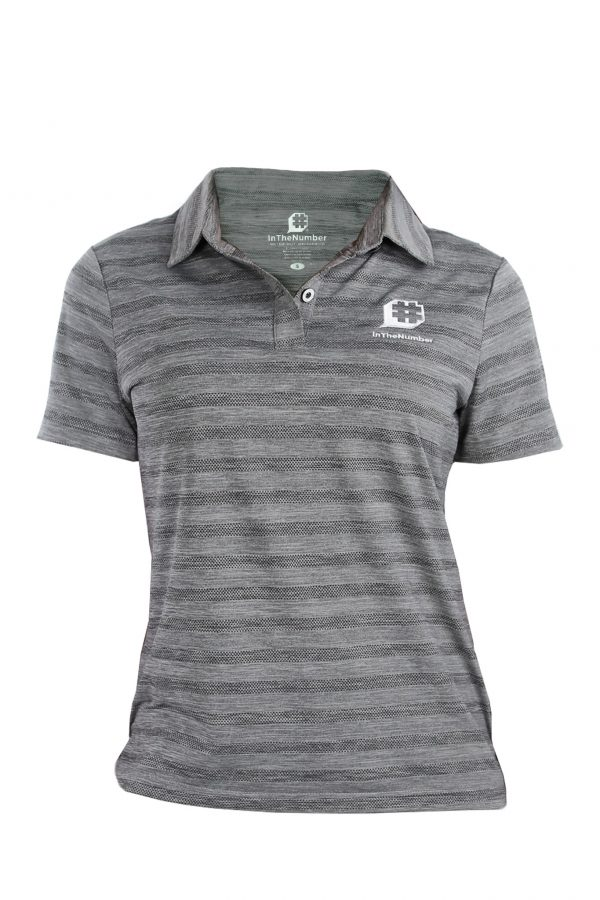 #ITN Ladies Cut Polo, Grey