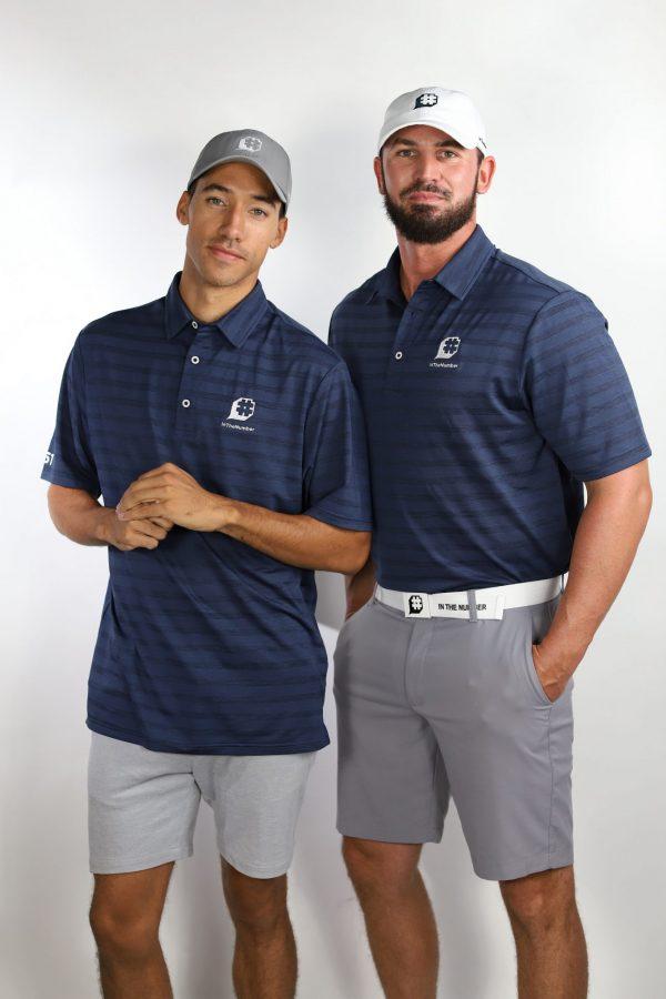 CUSTOM Men's Polo, Navy
